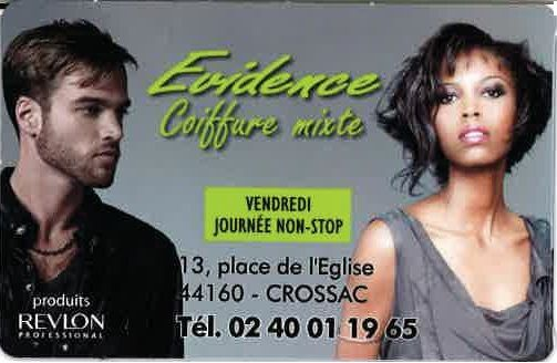 EVIDENCE COIFFURE.